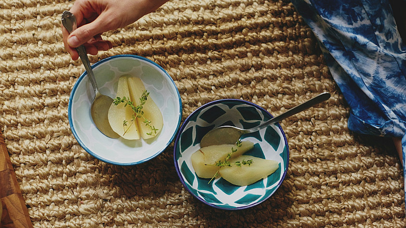 Ashley Neese Foodadit Poached Pears Recipe