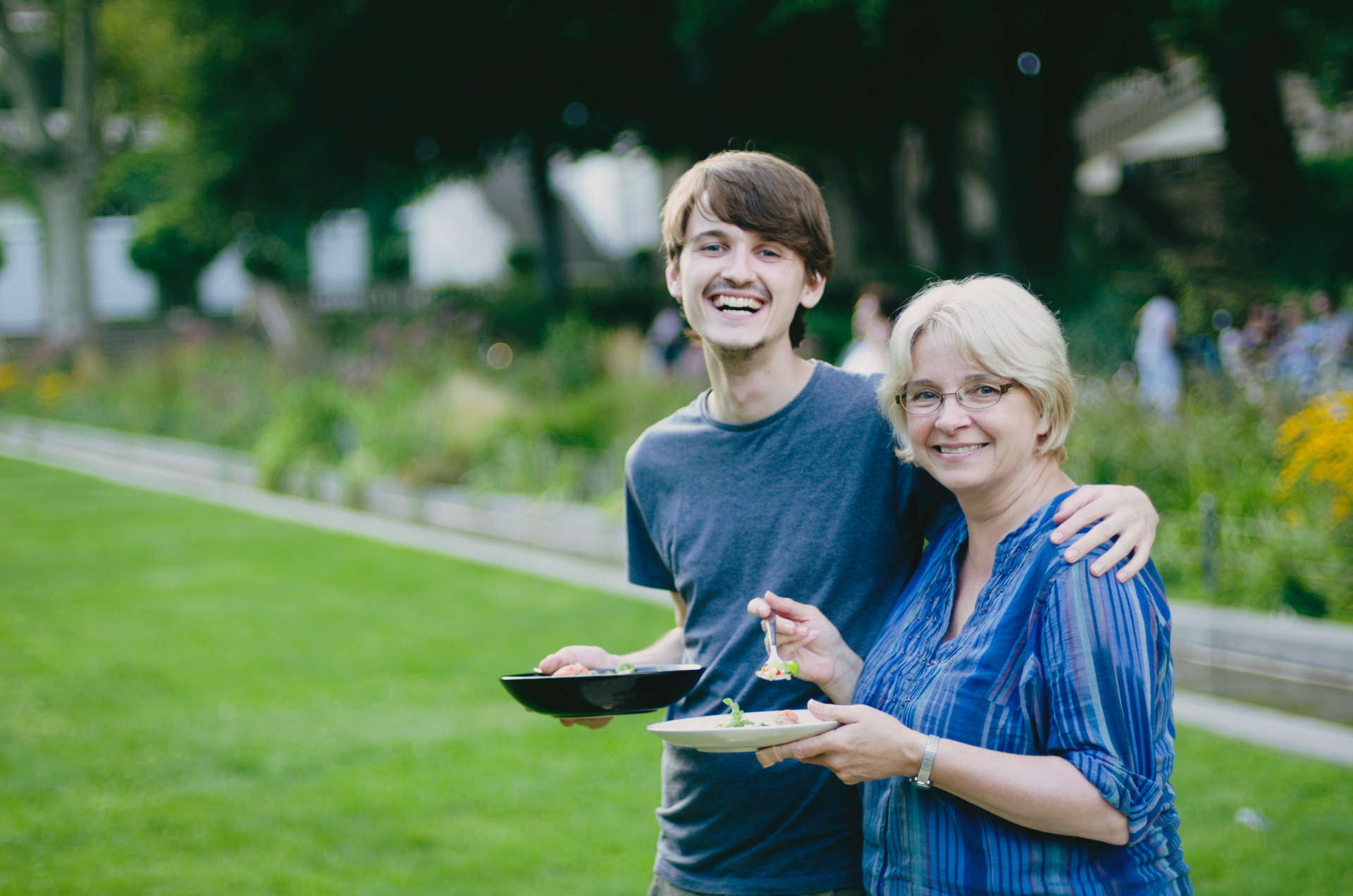 Foodadit family – Alastair and his Mum, Anne Coates