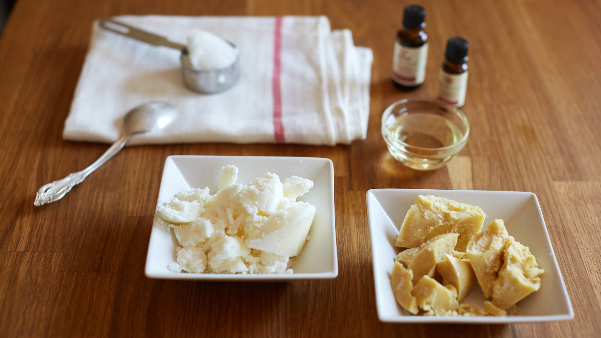 Ingredients for Alexandra Terry's Nourishing Whipped Body Butter recipe
