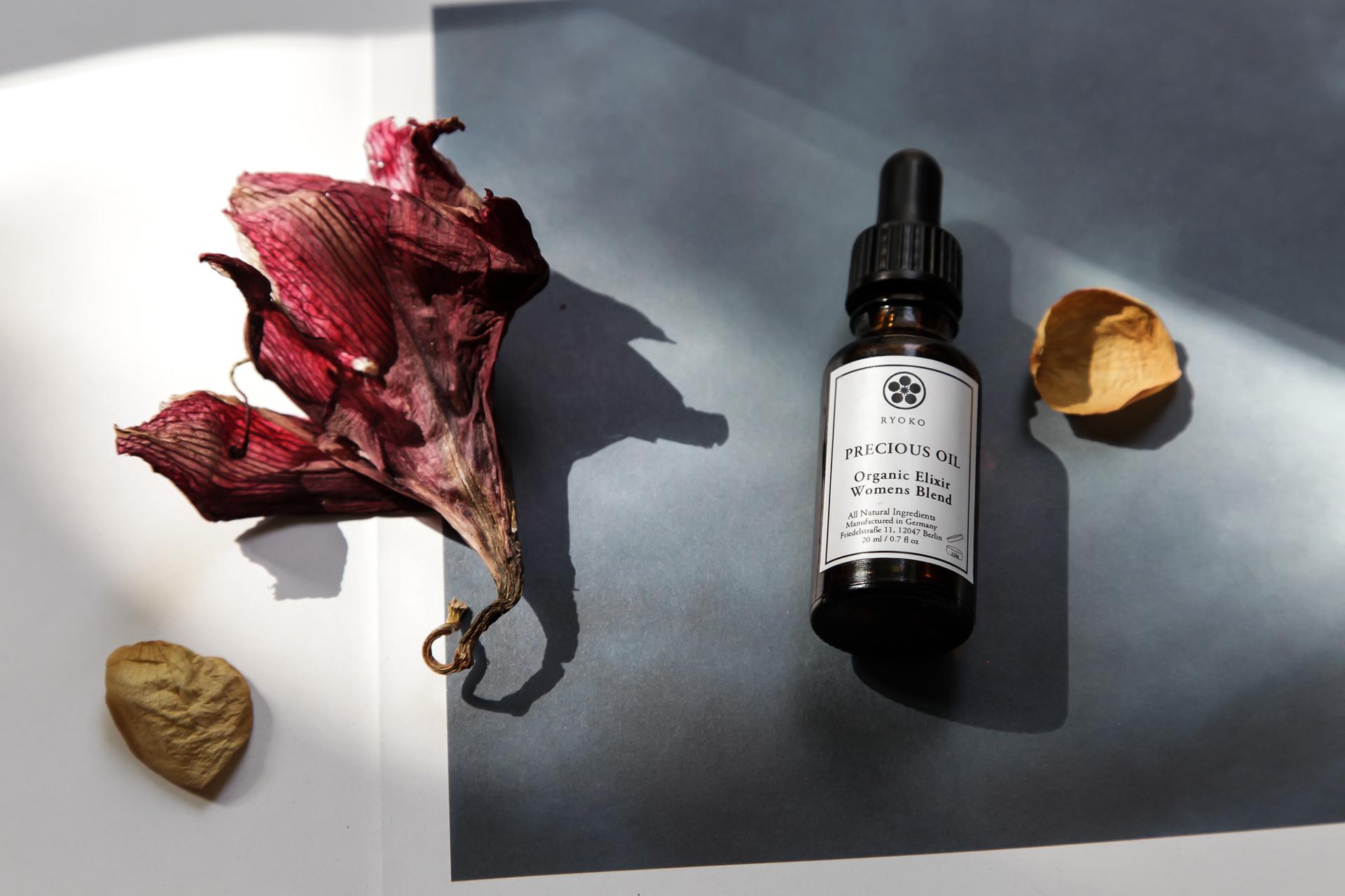 Ryoko's Precious Oil - an organic elixir women's blend